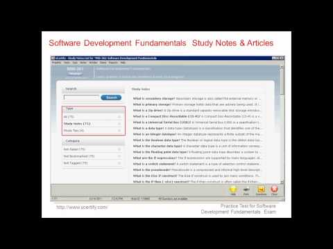 uCertify 98-361 Exam Practice Questions - YouTube