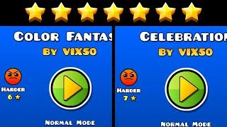 "ALL MY RATED LEVELS - ""Color Fantasy"" and ""Celebration"" 