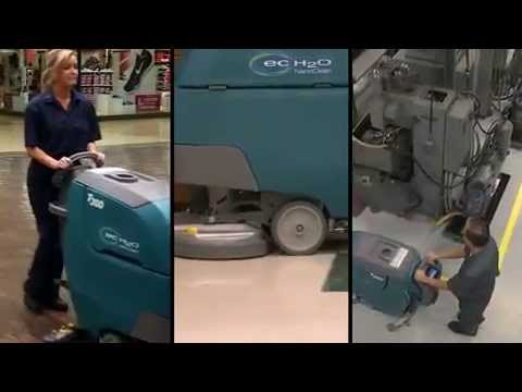 Tennant T300 Scrubber Highlights