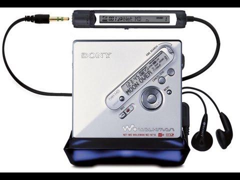 MiniDisc Sony MZ-N710