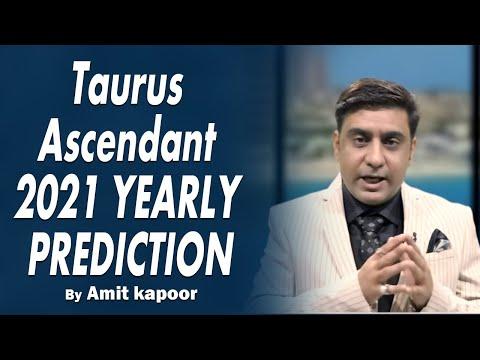 Taurus Ascendant 2021 YEARLY PREDICTION [ IN ENGLISH & HINDI ] #ASTROLOGERAMITKAPOOR
