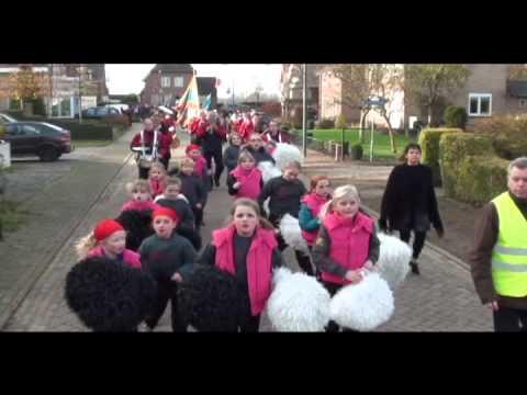 Intocht Sinterklaas in Escharen 2010