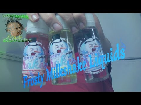 YouTube Video zu Frosty Shakes Strawberry Milkshake ShortFill Premium Liquid 100 ml