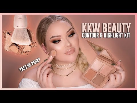KIM KARDASHIAN: KKW BEAUTY – POWDER CONTOUR & HIGHLIGHT KIT REVIEW!