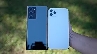 Samsung Galaxy Note 20 Ultra vs Apple iPhone 11 Pro Max vs Samsung Galaxy S20 Ultra Camera Comparison