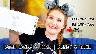 My Star Wars & Disney X Toms Collection... Featuring Baby Yoda!!! 💫 #StarWarsDay