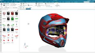 Siemens NX Demonstration: Appearance Manager