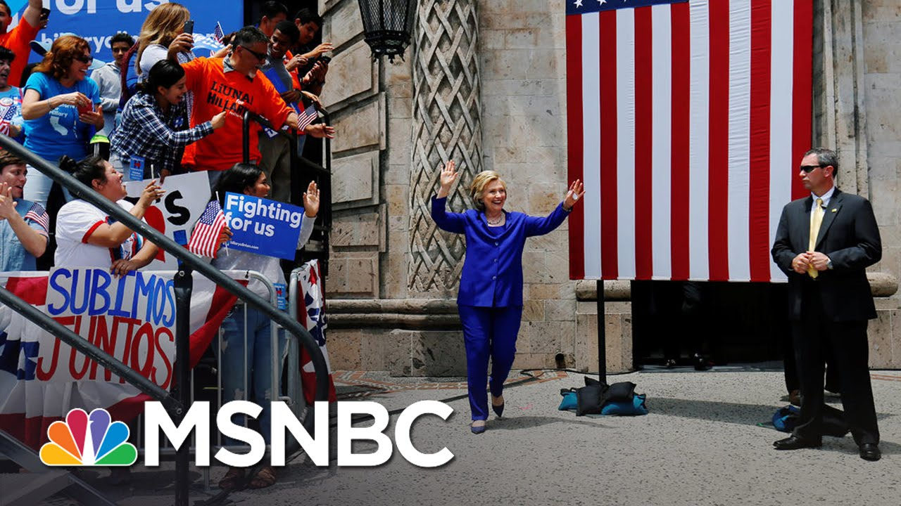 Hillary Clinton, Democrats Ramp Up For The DNC | MSNBC thumbnail
