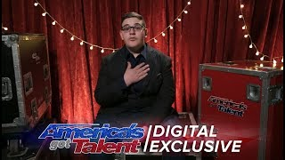 Christian Guardino Thanks Howie for the Golden Buzzer - America