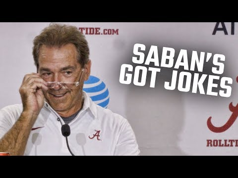 Nick Saban to reporter: 'Maybe we'll try to hire your ass'
