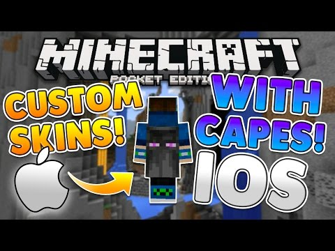 MCPE 0 15 9 How to Use Minecon Capes on Your Custom Skin for