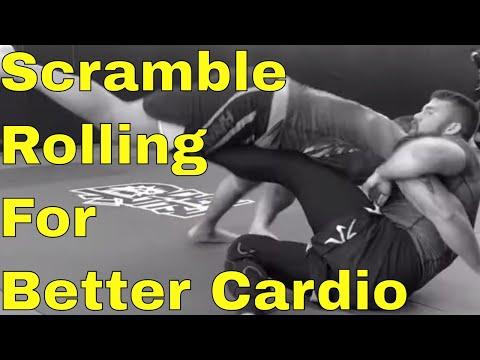 Rolling Loose to Create Scrambles & Build BJJ Cardio and Movement (Chewjitsu Rolls)