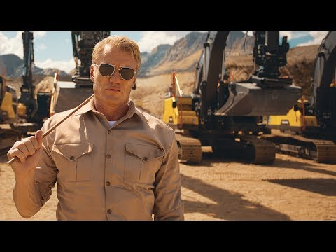 Volvo CE Creates Hilariously Awesome Video with Dolph Lundgren and Its Excavators