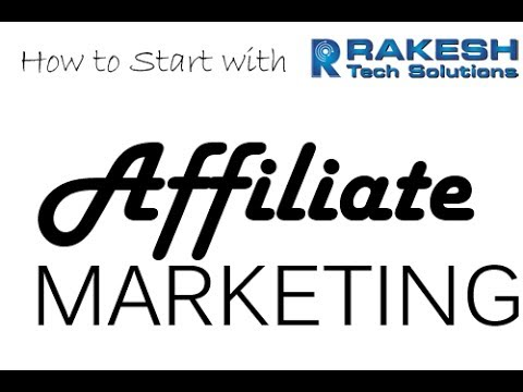 Affiliate Marketing Training Video Tutorial 2018