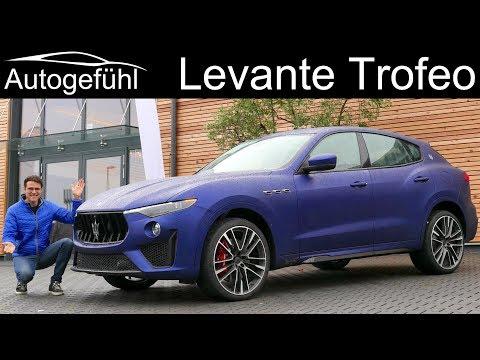 Maserati Levante Trofeo V8 FULL REVIEW - Autogefühl