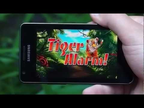 Video of Tiger Alarm!