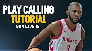 NBA LIVE 19 PLAY CALLING TUTORIAL | NBA Live 19 Gameplay
