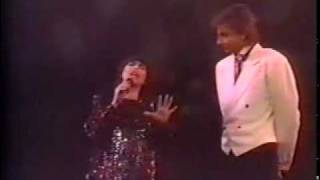 Barry Manilow &  Mireille Mathieu - Don't talk to me of love (1986)