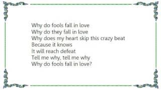 Joni Mitchell - Why Do Fools Fall in Love DVD Lyrics