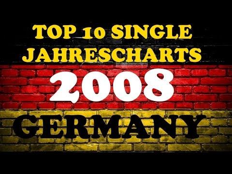 TOP 10 Single Jahrescharts Deutschland 2008 | Year-End Single Charts Germany | ChartExpress
