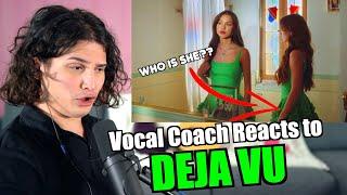Vocal Coach Reacts to Olivia Rodrigo - Deja Vu