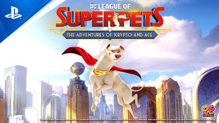 PlayStation DC League of Super-Pets: The Adventures of Krypto and Ace - Announce Trailer | PS4 anuncio
