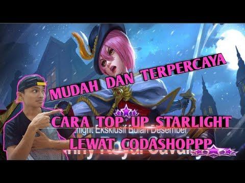 MUDAH DAN TERPERCAYA??? TUTORIAL CARA TOP UP STARLIGHT LEWAT CODASHOP