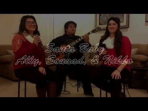 """Santa Baby"" with the talented Ally and Nikko."