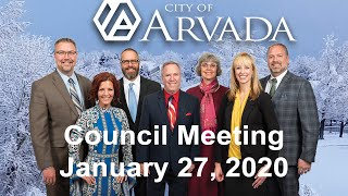 Preview image of City Council Meeting - January 27, 2020