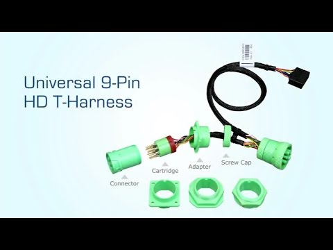 Universal 9-Pin Heavy Duty T-Harness Installation