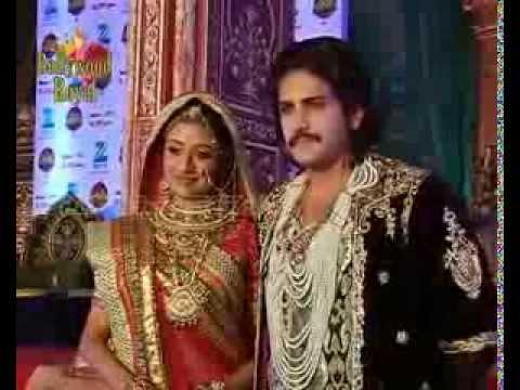 Star cast of TV Serial 'Jodha Akbar' Game launch of name oe Jodha  3