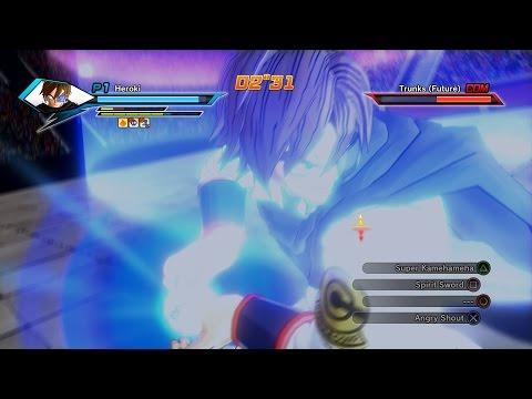 Dragon Ball Xenoverse Online Battles #1 3 VS 3