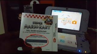 Nintendo 3DS XL SNES Edition How to download Super Mario Kart