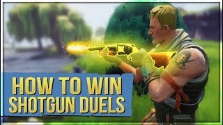 HOW TO WIN | Shotgun Duels Tips and Guide (Fortnite Battle Royale)