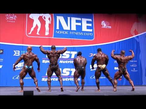 Nordic Pro 2015. Finals Bodybuilding
