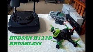 HUBSAN H123D BRUSHLESS MICRO RACER REVIEW & FLIGHT TEST