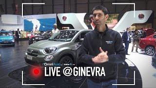 Fiat 500 X e Fiat Tipo S-Design | Salone di Ginevra 2017