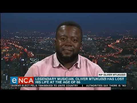 Moreira Chonguica pays tribute to Oliver Mtukudzi