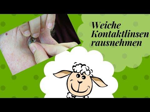 6 Methoden: weiche Kontaktlinsen rausnehmen