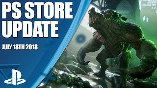 PlayStation Store Highlights - 18th July 2018