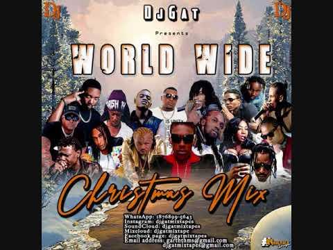 DANCEHALL MIX DECEMBER 2018 DJ GAT WORLD WIDE CHRISTMAS FT VYBZ KARTEL /ALKALINE/AIDONIA/