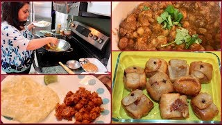 Preparing Delicious Food For Holi (2019 ) | Indian Dinner  Routine | Simple Living Wise Thinking