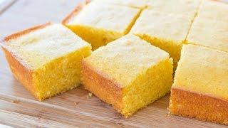 how to make homemade cornbread without cornmeal