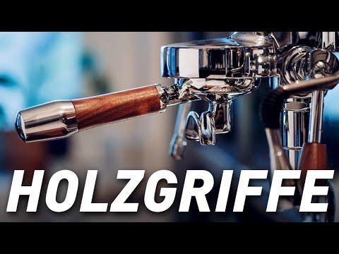 Review –Wiedemann Holz Griffe und Teile für die Espressomaschine ***inkl 10% CODE***