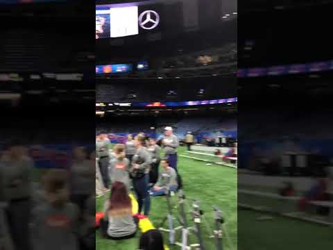 Surprise proposal at the Superdome