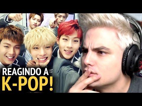 REAGINDO A K-POP