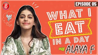 Alaya F Reveals Her Healthy Yet Realistic Cheat Meal Diet | Jawaani Jaaneman | What I Eat In A Day
