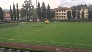 preview picture of video 'Elisoccorso 118 decolla da Acquapendente'