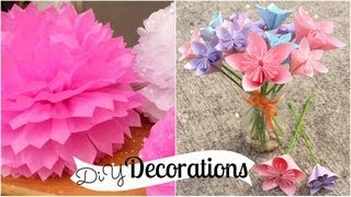 How to Make Paper Flowers - video