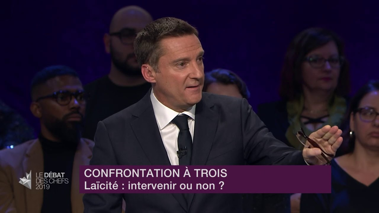 Justin Trudeau, Jagmeet Singh et Maxime Bernier débattent sur la laïcité et l'avortement